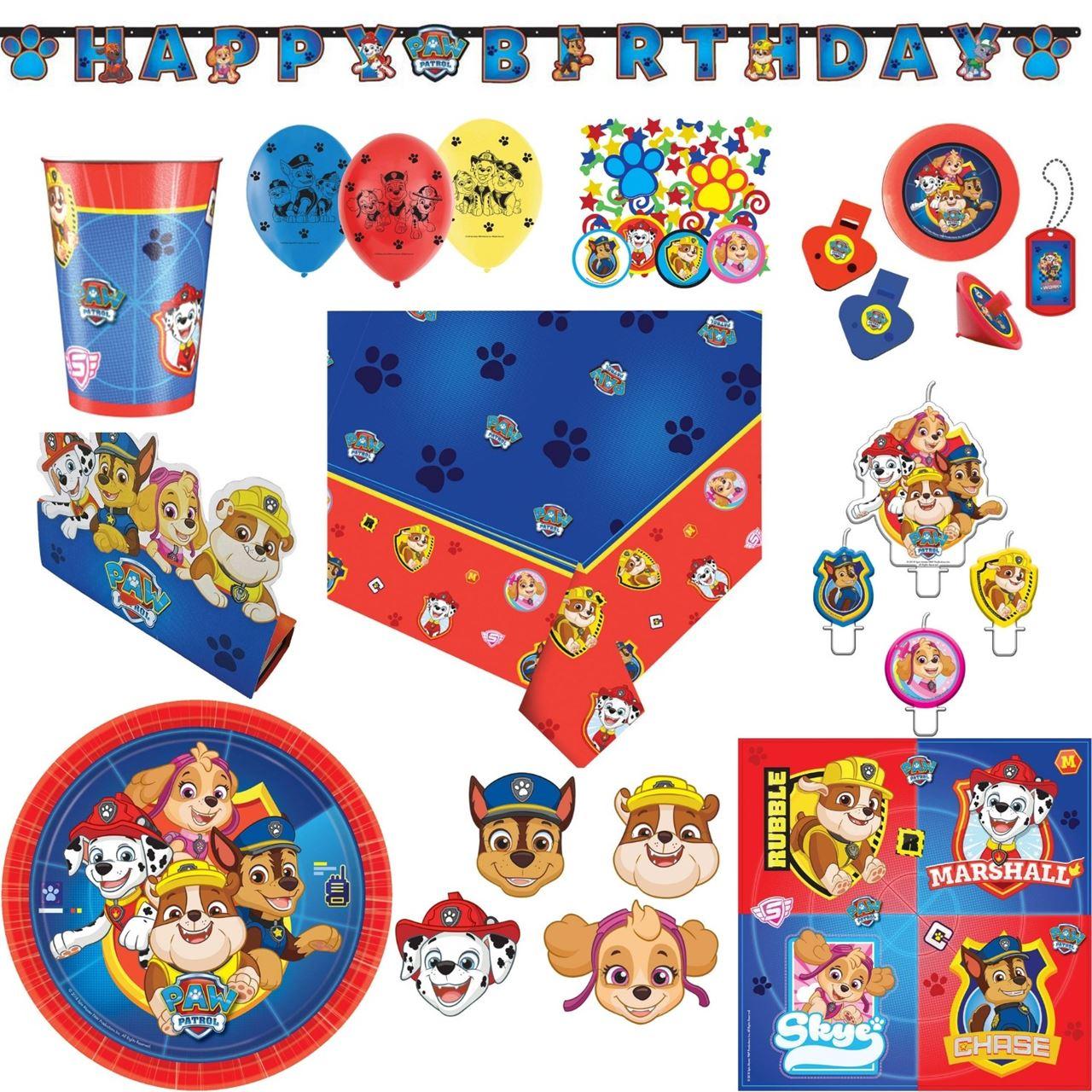 24 Teile AMSCAN 9903837 Spielzeug-Set Paw Patrol