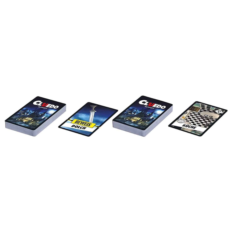 HASBRO E7589 Kartenspiel Cluedo
