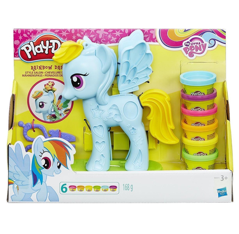 Hasbro B0011 Play Doh My Little Pony Rainbow Dash Mahnenspass