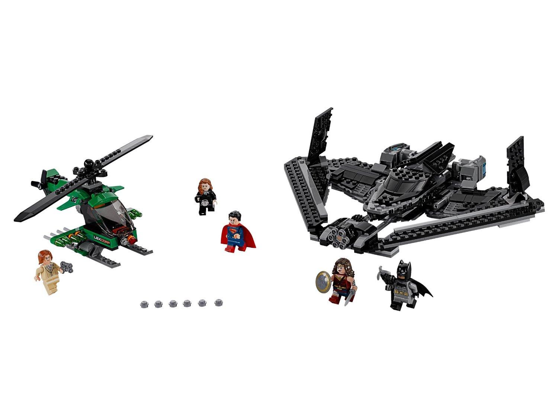 Helden der Gerechtigkeit Duell in der Luft DC Super Heroes LEGO 76046