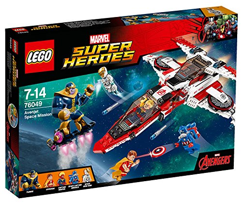 Lego Super Heroes 76049-Avenjet Mission Spatiale