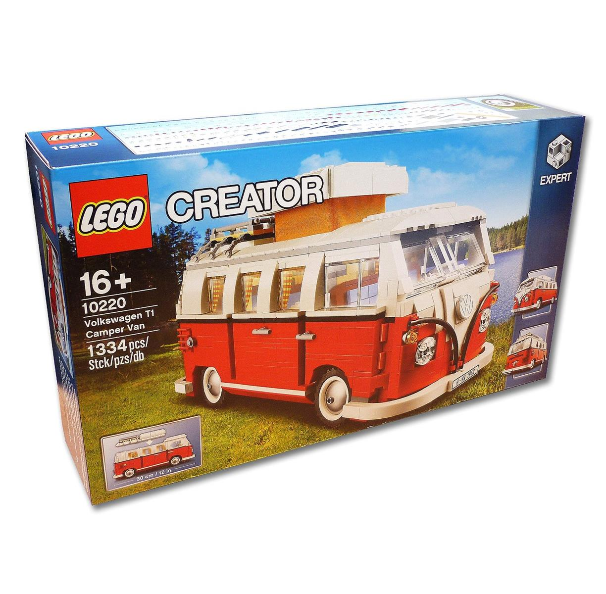 LEGO Creator vw t1 consomme exclusif