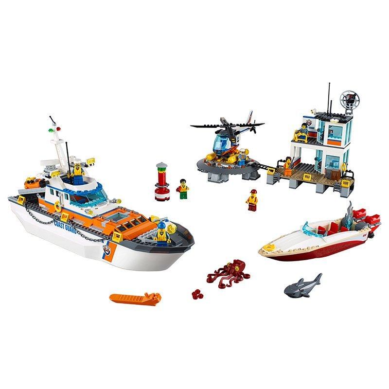 LEGO 60167 - - - City - Küstenwachzentrum 864630