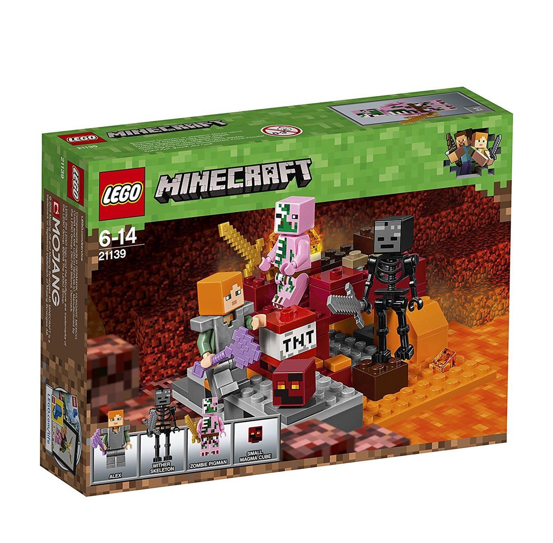 LEGO 21139 - Minecraft - Nether-Abenteuer   eBay