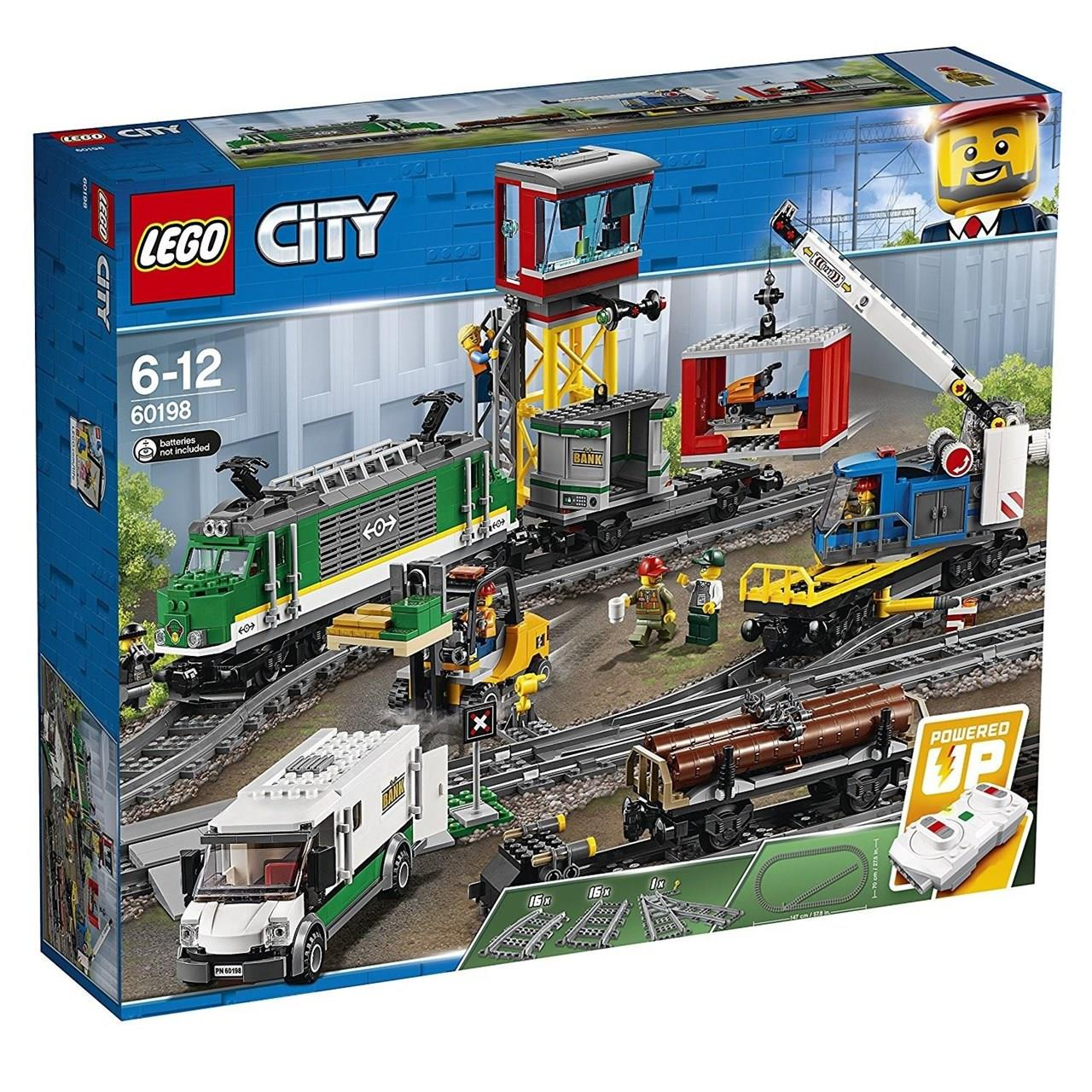 Lego Lego Lego 60198-City-Train de marchandises 5e07b8
