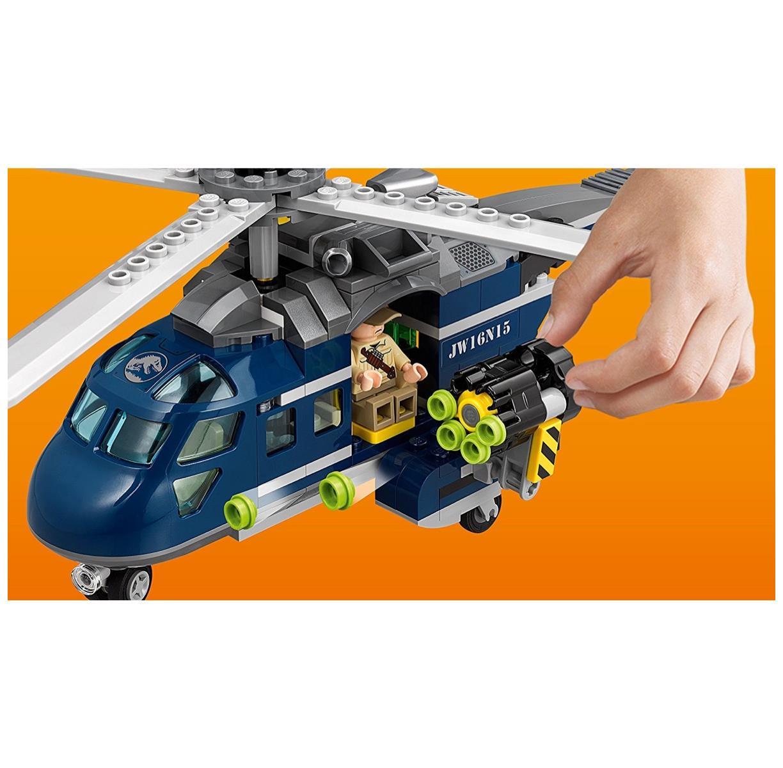 Lego 75928-Jurassic World-bleu 's 's 's Hélico-Course poursuite 140eff