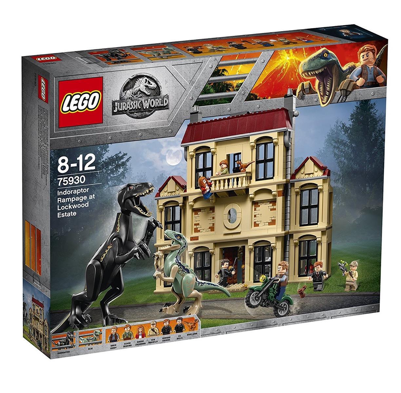 LEGO 75930 - Jurassic World - Indoraptor-Verwüstung des Lockwood Anwesens