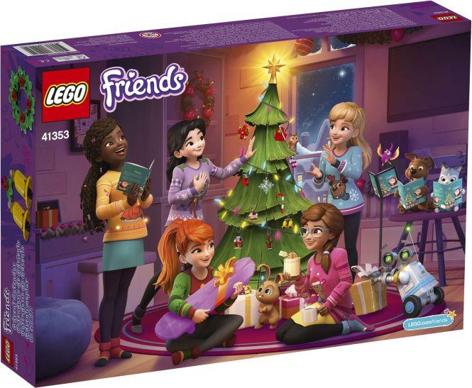 LEGO 41353 Adventskalender mit Weihnachtsschmuck Friends