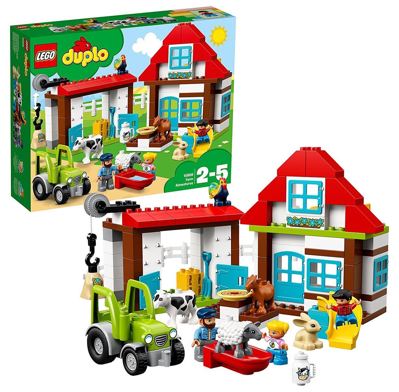 Lego 10869-DUPLO-excursion sur la ferme