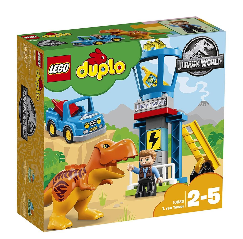Lego Duplo 10880 Jurassic World T-Rex Aussichtsplattform NEUHEIT 2018 OVP, Baukästen & Konstruktion