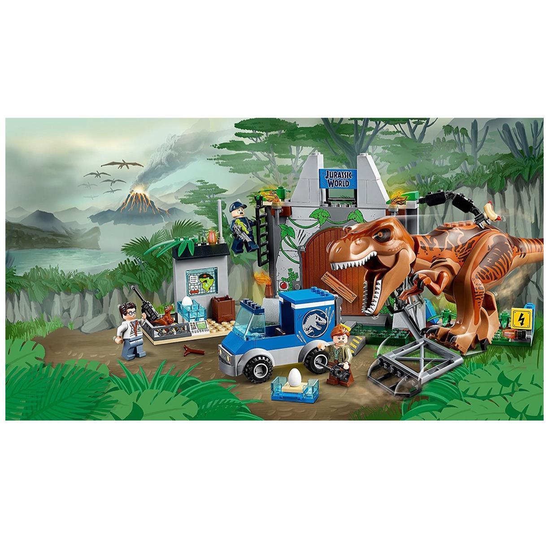 LEGO 10758 - Juniors - Jurassic World Ausbruch des des des T-Rex 60d9ac