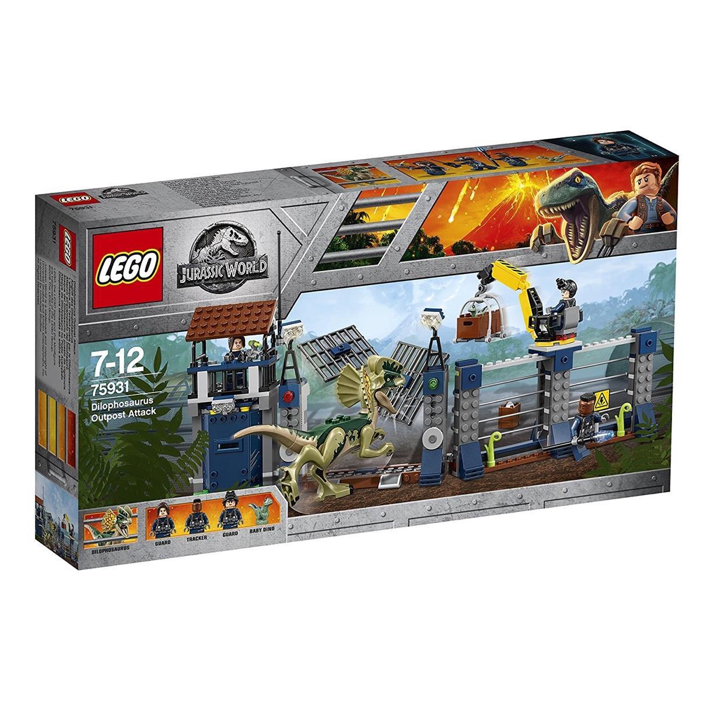 LEGO 75931 - Jurassic World - Angriff des Dilophosaurus