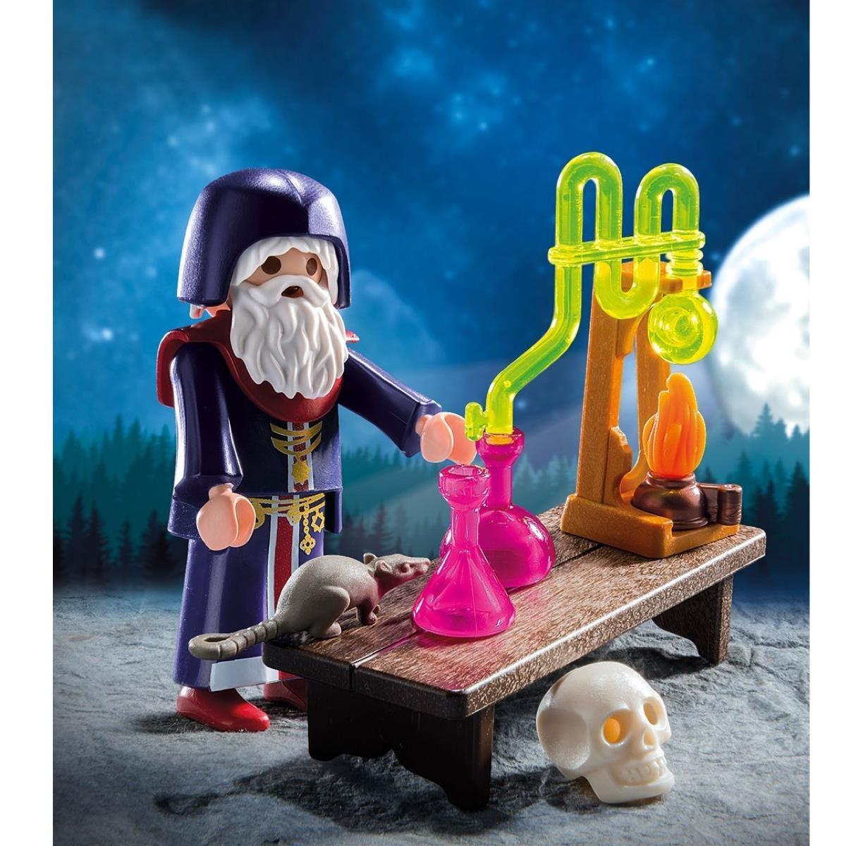 Playmobil 9096 Zauberer mit Labor OVP NEU Special Plus