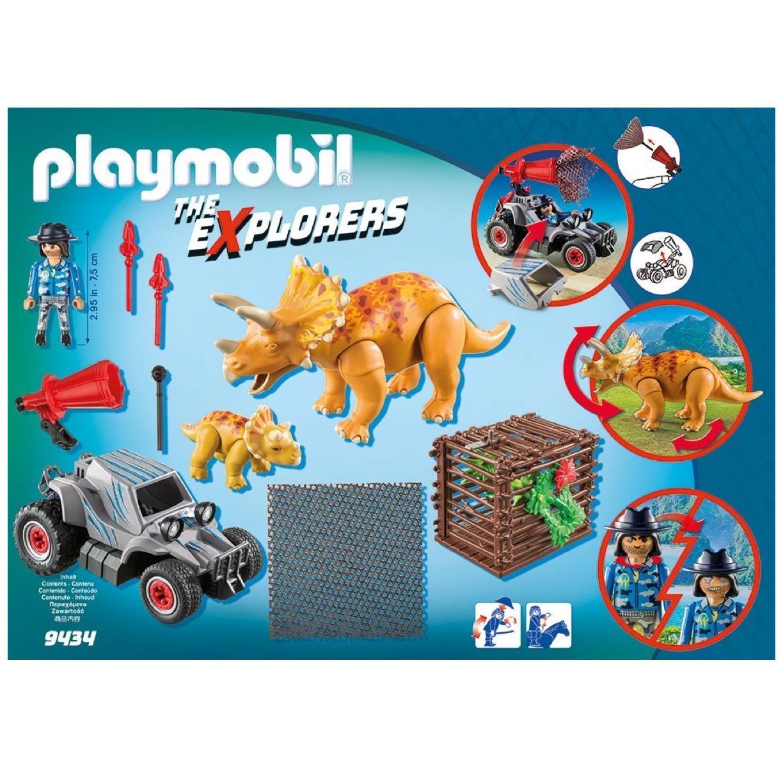 Playmobil Offroader mit Dino Fangnetz 9434  The Explorers NEU Dschungel Abenteuer