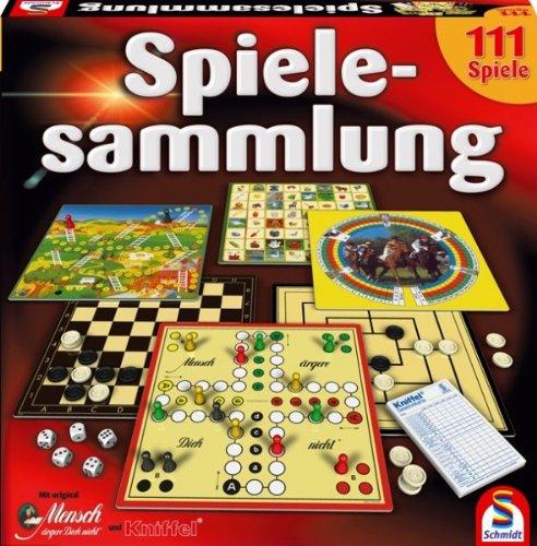 Brettspiel Familie Spielesammlung 111 Spiele