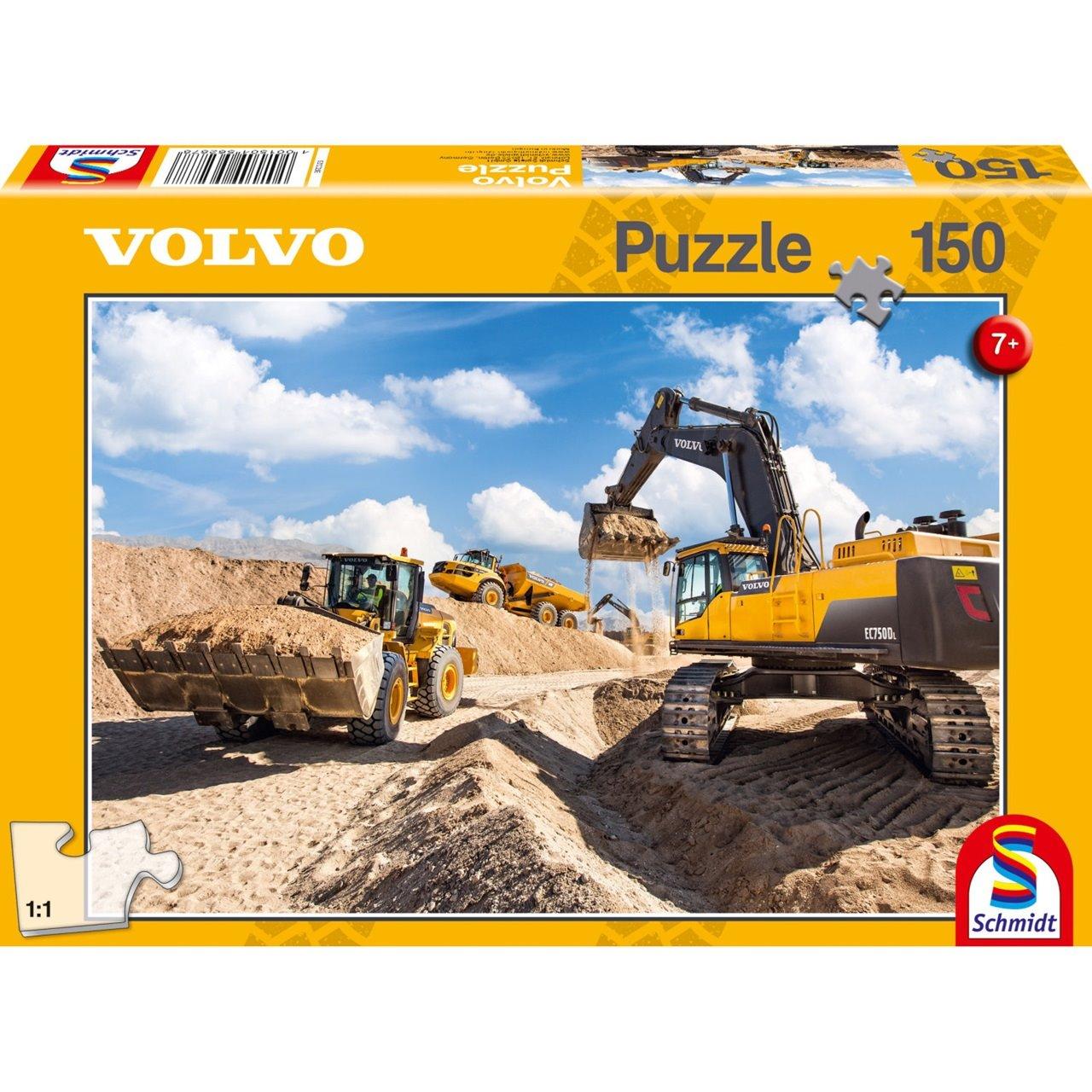 Puzzles & Geduldspiele Schmidt Spiele Volvo L120GZ A40F EC750D 150 Teile Kinderpuzzle Kinder Puzzle