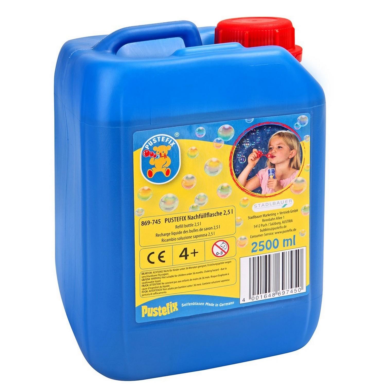 PUSTEFIX 420869745 - Seifenblasen - Nachfüllflasche, 2500 ml