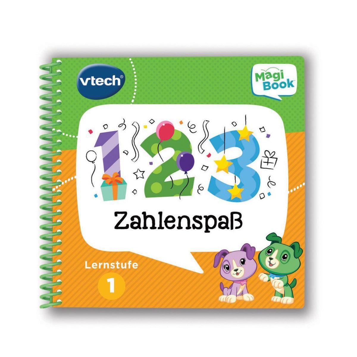 Kleinkindspielzeug VTECH MAGIBOOK MAGI BOOK BLAU GRÜN INTERAKTIVES LERNBUCH 602104 NEU
