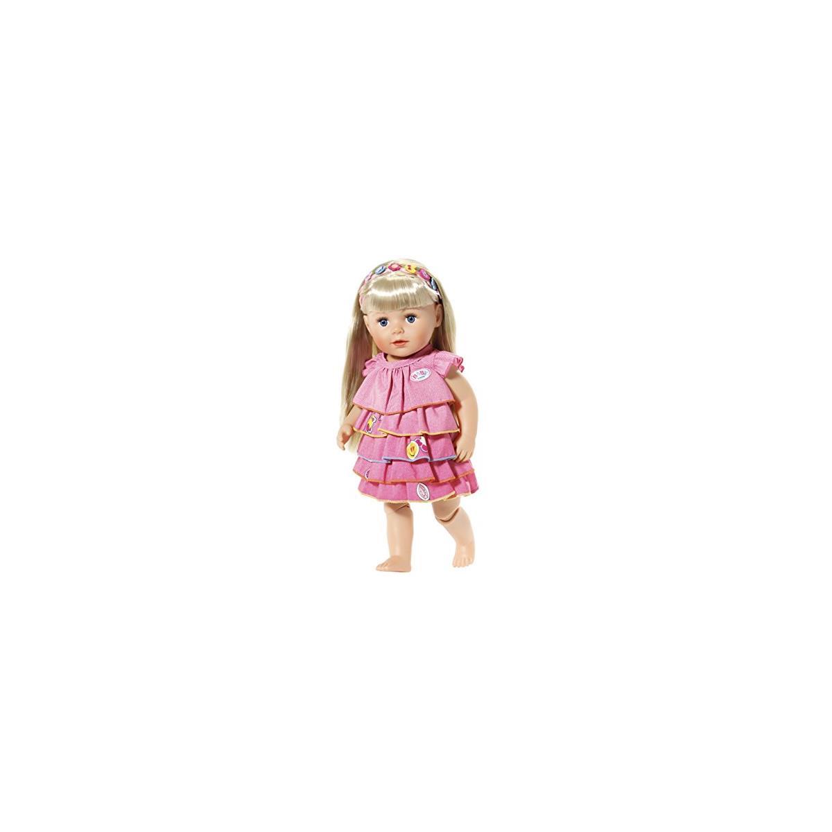 Kleidung & Accessoires Babypuppen & Zubehör bunt Zapf Creation 824481 Baby Born Sommerkleid Set mit Pins