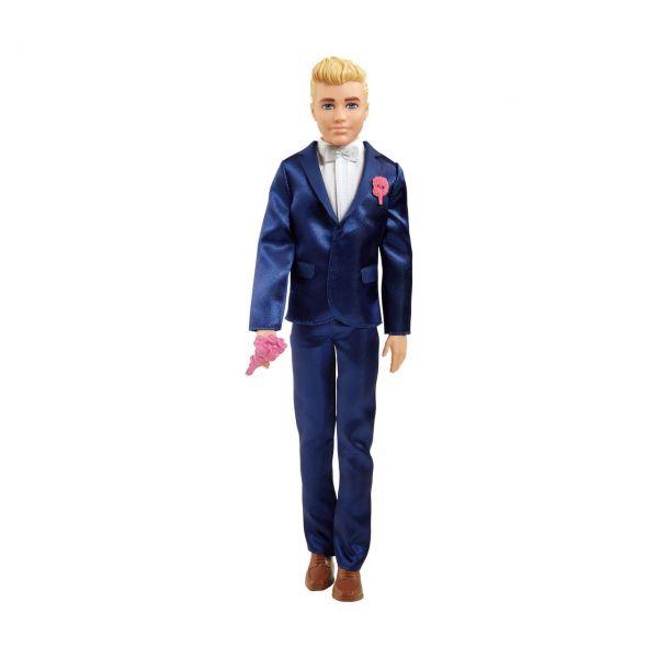 MATTEL GTF36 - Barbie - Ken Bräutigam Puppe