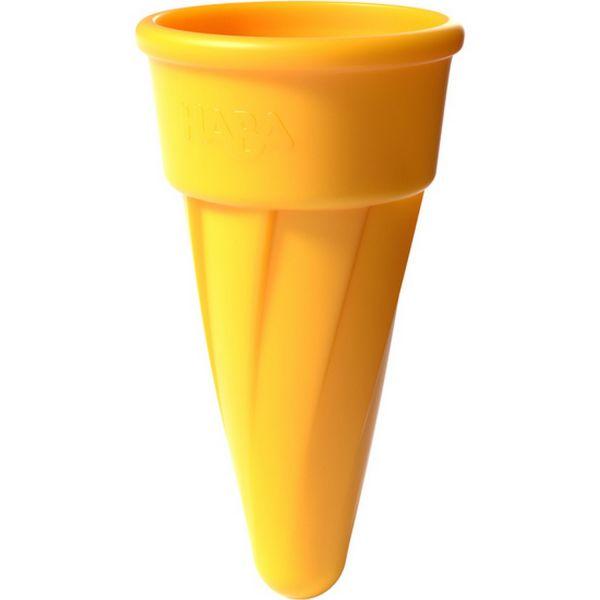 HABA 304673 - Sandspielzeug - Eistüte, Gelb