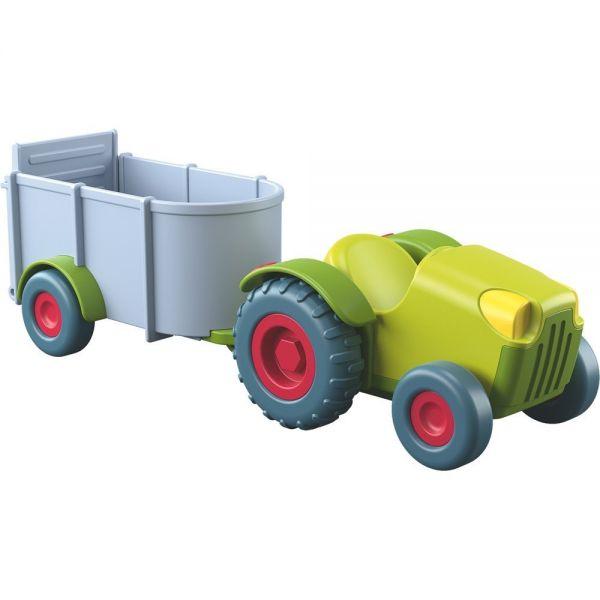 HABA 303131 - Little Friends - Traktor mit Anhänger