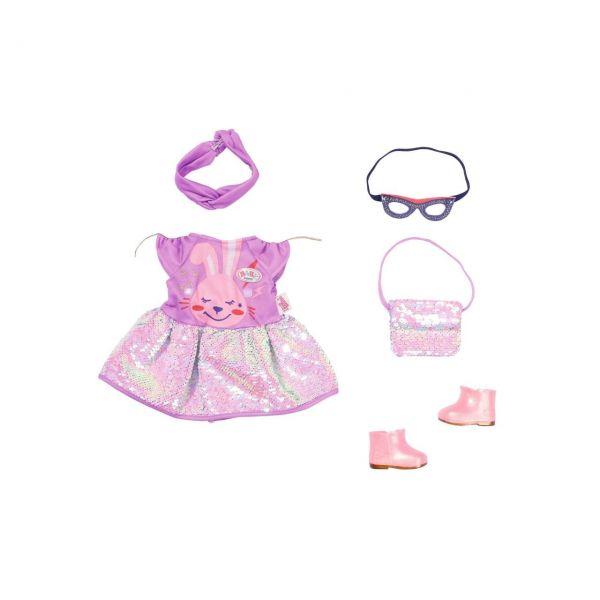 ZAPF 830796 - BABY born® - Deluxe Happy Birthday Outfit, 43cm