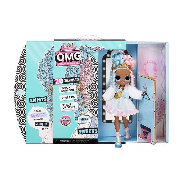 MGA 572763E7C - L.O.L. Surprise O.M.G. - Fashion Puppe Sweets