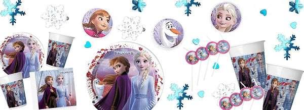 Partydeko Disney Frozen