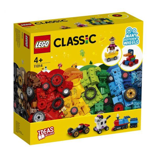 LEGO 11014 - Classic - Steinebox mit Rädern