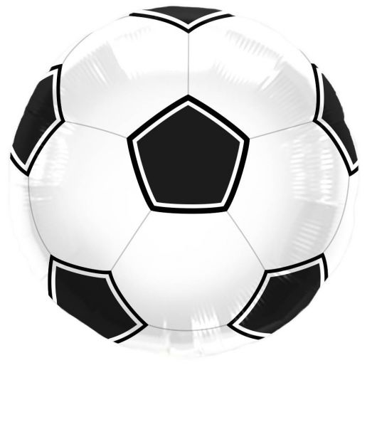 FOLAT 63107 - Geburtstag & Party - Folienballon Fussball Ballon Fußbal 43 cm
