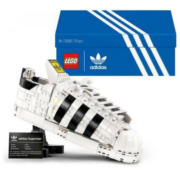 LEGO 10282 - Creator Expert - adidas Originals Superstar Schuh Turnschuh