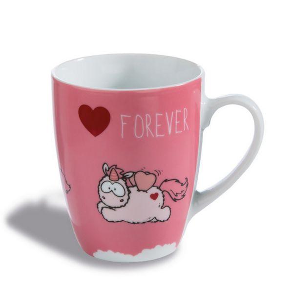 """NICI 42232 - Tasse - Merry Heart """"Forever"""" Fancy Mug"""