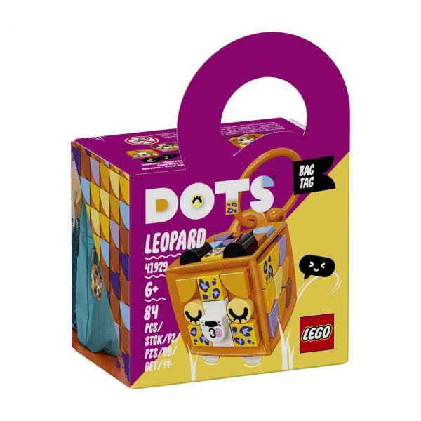 LEGO 41929 - DOTS - Taschenanhänger Leopard