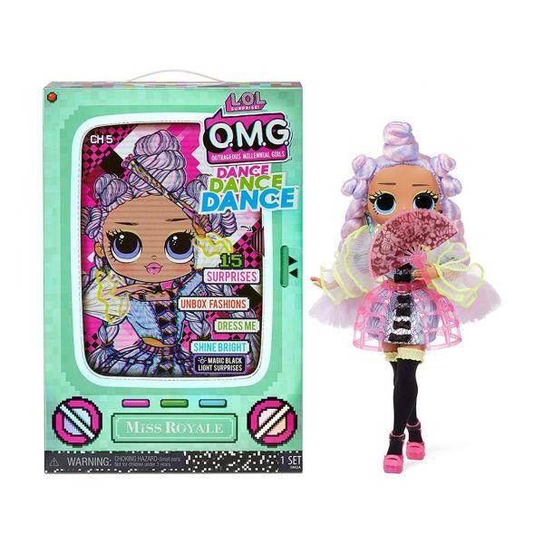 MGA 117872E7C - L.O.L. Surprise O.M.G. - Dance Doll, Miss Royale