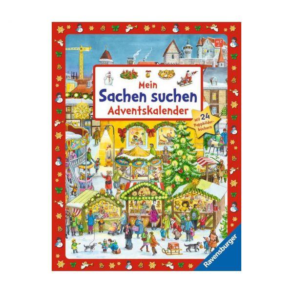 RAVENSBURGER 41637 - ministeps® - Mein Sachen suchen Adventskalender