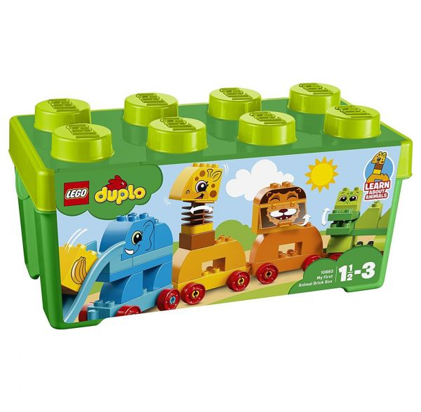 LEGO 10863 - Duplo - Meine erste Steinebox mit Ziehtieren