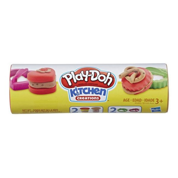 HASBRO E5205 - Play Doh - Kitchen Creations, Cookie Dosen, Chocolate Chip Cookie
