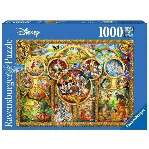 RAVENSBURGER 15266 - Puzzle - Die schönsten Disney Themen, 1000 Teile