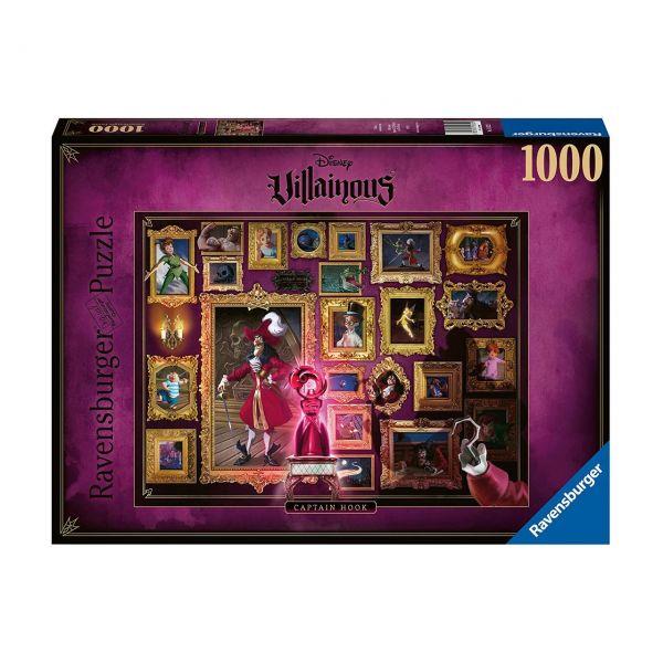 RAVENSBURGER 15022 - Puzzle - Disney Villainous: Captain Hook, 1000 Teile