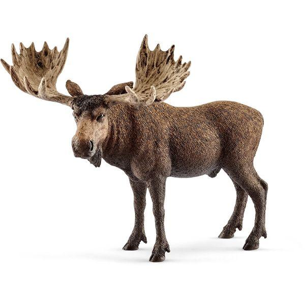 SCHLEICH 14781 - Wild Life - Elch Bulle