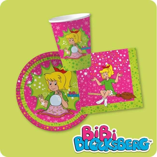 Bibi Blocksberg Partydeko bei Spielzeugwelten