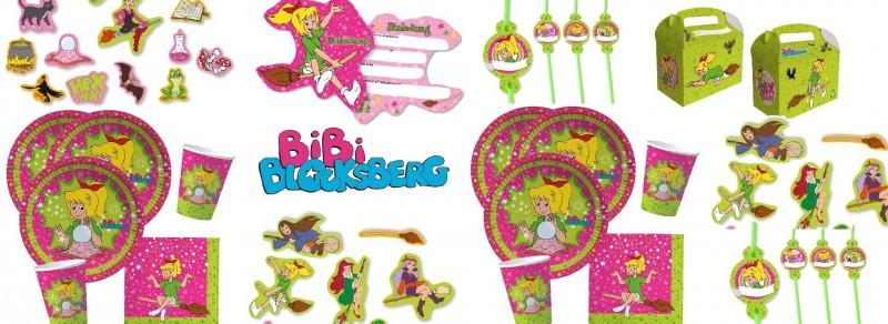 Partydeko Bibi Blocksberg  bei Spielzeugwelten