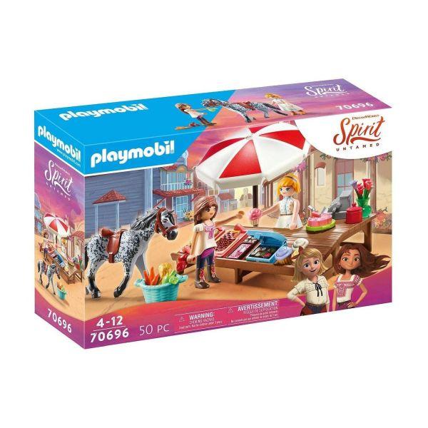 PLAYMOBIL 70696 - Spirit - Miradero Süßigkeitenstand