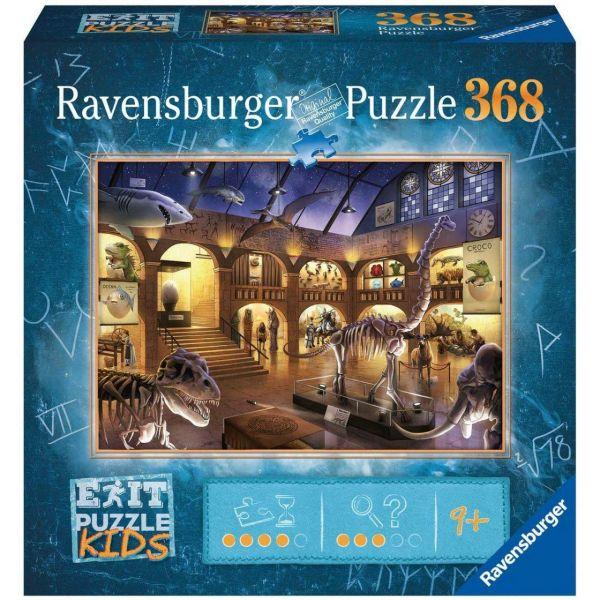 RAVENSBURGER 12925 - Puzzle - Exit Kids -Im Naturkundemuseum, 368 Teile