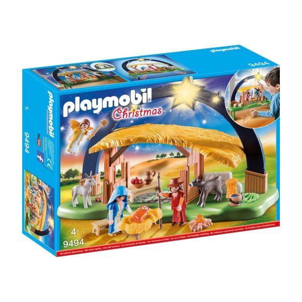 PLAYMOBIL 9494 - Christmas - Lichterbogen Weihnachtskrippe
