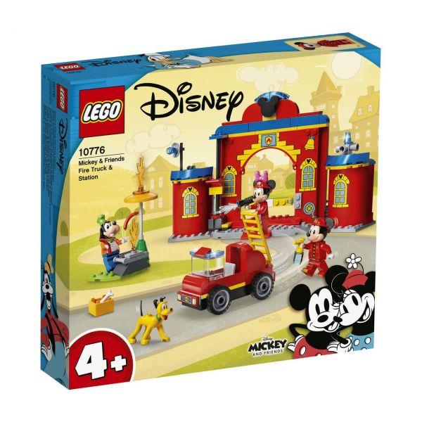 LEGO 10776 - Disney Mickey and Friends - Mickys Feuerwehrstation und Feuerwehrauto
