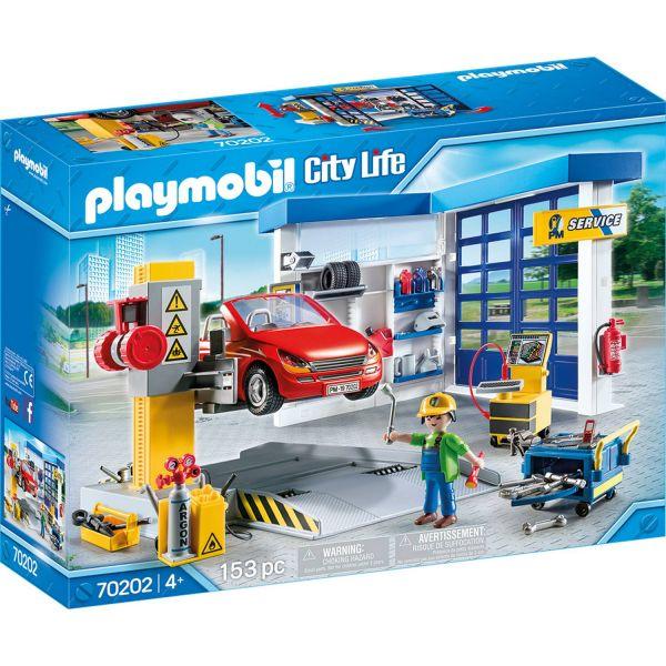 PLAYMOBIL 70202 - City Life Fahrzeugwelt - Autowerkstatt
