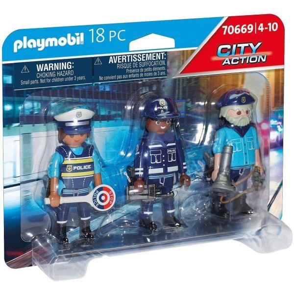 PLAYMOBIL 70669 - City Action - Figurenset Polizei