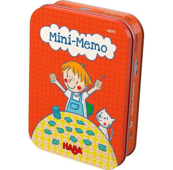 HABA 303701 - Mitbringspiel in Metalldose - Mini Memo
